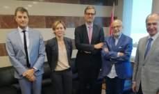شهيب تابع مع المدير العام للوكالة الفرنسية للتعليم في الخارج مشاريع التعاون