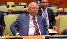 مندوب السعودية بالأمم المتحدة: حق الفلسطينيين بالعودة لوطنهم غير قابل للتصرف