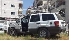 الدفاع المدني: جريحة اثر حادث سير في المعلقة - زحلة