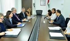 بطيش التقى مدير عام سياسة الجوار والتوسع في الاتحاد الاوروبي