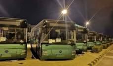 وزارة الإدارة المحلية والبيئة السورية تسلمت مئة حافلة مقدمة من الصين