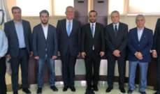 داود جال في طرابلس: واجبنا أن ندعم إقامة معارض متخصصة في معرض رشيد كرامي