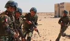 الأمن المصري تصدى لهجوم على حاجز أمني بالعريش