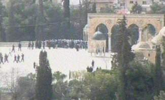 فلسطينيون يطردون أردنياً قبل دخوله المسجد الأقصى ضمن وفد إعلامي عربي