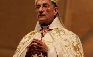 البطريرك الراعي ترأس قداس خميس الأسرار في بكركي