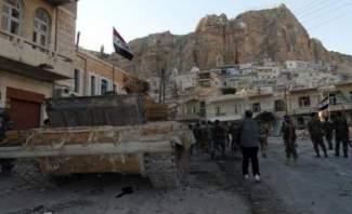 """""""النشرة"""" تجول في مناطق يبرود: حدة المعارك تحتدم وأصوات المدفعية تُسمَع"""