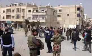 """""""النشرة"""" تجول بيبرود بعد سيطرة الجيش عليها وتواكب عملية تمشيط المنطقة"""