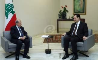 الرئيس عون للدياب في فيديو مسرب: لا تأليف للحكومة والحريري قام بتصريحات كاذبة