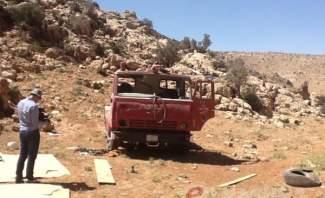"""""""النشرة"""" عند الحدود السورية اللبنانية المتاخمة للطفيل بعد عملية للجيش السوري في جرود المنطقة"""