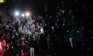 النشرة: إشكال بين مناصري الحريري ومجموعات للحراك أمام منزل بهية الحريري