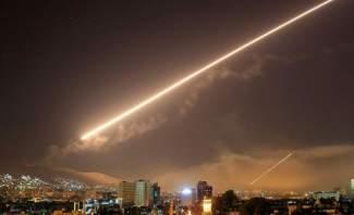 الجيش الاسرائيلي يعلن عن إستهدافه مواقعا ايرانية في سوريا فجرا