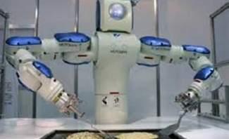 سوني تعمل على إدخال الروبوت في مجال إعداد الطعام