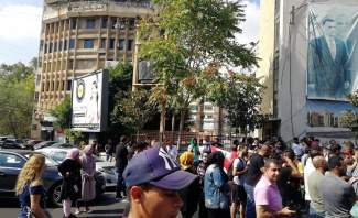 النشرة: المحتجون يواصلون اعتصامهم امام السراي الحكومي في النبطية