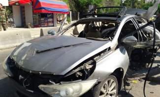 انفجار عبوة ناسفة كانت مزروعة في سيارة يملكها محلل سياسي سوري