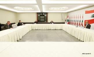 جعجع عرض مع كوبيتش بآخر التطورات وضرورة تشكيل حكومة قريبا