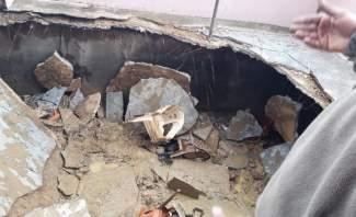 انهيار سقف بالهرمل يوقع جرحى وجبق يصدر قرارا بمعالجتهم على نفقة الصحة