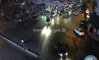LBC: معتصمون يقطعون الطريق عند جسر الرينغ ويشعلون الاطارات