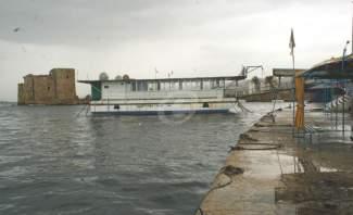 النشرة: اشتداد العاصفة في صيدا واعصار يضرب الشاطئ