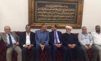 غداء تكريمي على شرف حسن مراد في بلدة المرج