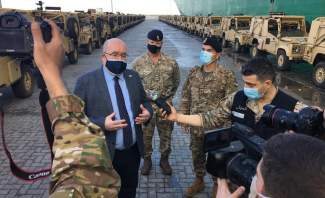 القائم بالاعمال البريطاني عن هبة الـ100 مركبة للجيش: فصل إضافي من التعاون للمساعدة بضبط الحدود