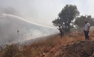 اندلاع حريق كبير في غابات الصنوبر بعكار امتدادا إلى غابة المرغان في القبيات ووصول النيران إلى المنازل