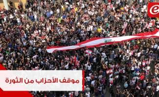 كيف تطوّر تعاطي رؤساء الاحزاب مع ثورة 17 تشرين الاول؟