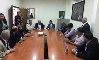 محافظ البقاع جال على قرى اتحاد بلديات شرق زحلة