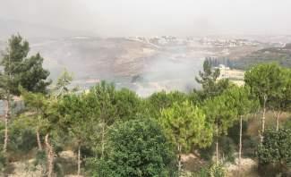النشرة: الدفاع المدني اخمد حريقا كبيرا في بلدة الكفور