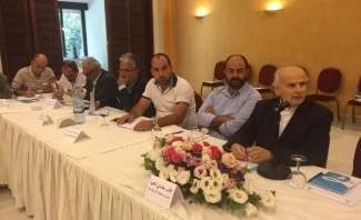 ورشة عمل حول التحديات التي تواجه البلديات بادارتها لواقع وجود السوريين
