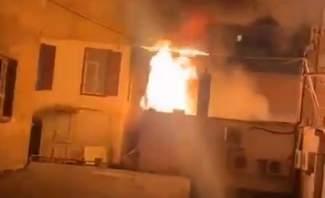 انفجار مولد كهربائي في منطقة مار الياس في بيروت