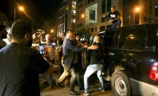 إطلاق نار من قبل مرافق شهيب خلال مرور موكبه في وسط بيروت