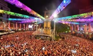 بيروت استقبلت العام الجديد باحتفال تميز بعد تنازلي فريد