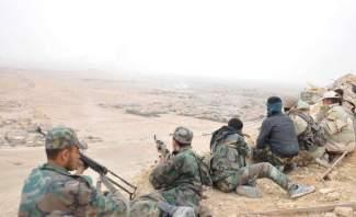 النشرة: الجيش السوري يشرف على الطريق الواصل لمعبر التنف