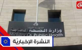 موجز الأخبار: 1139 إصابة جديدة بفيروس كورونا والجيش ينتشر في شوارع الهرمل