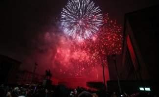 رأس السنة الجديدة يطل في نيوزيلاندا التي استقبلته بالألعاب النارية