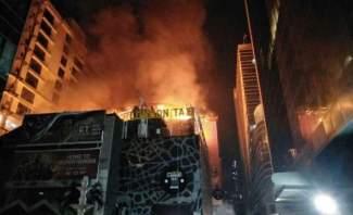 مقتل 12 شخصا على الأقل وإصابة آخرين في حريق بمومباي في الهند