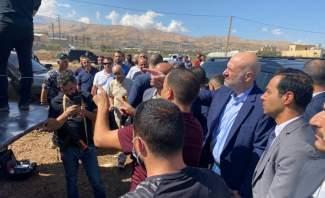 وزير الداخلية يتفقد في بدنايل ضبط  شاحنة محمّلة بـ20 طن من مادة نيترات الأمونيوم
