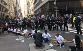 شرطة نيويورك تعتقل 30 متظاهرا ضد ترامب
