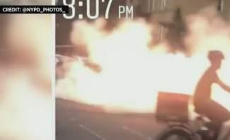 انفجار في نيويورك وأصابع الاتهام تتجه إلى أحد أعضاء العصابات