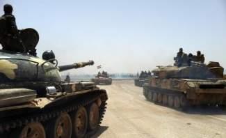 الجيش السوري ينقل مدرعات إلى منطقة الحدود مع تركيا