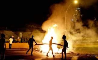 سقوط جرحى وإعتقال المئات باشتباكات بين الشرطة واسرائيلين من اصول اثيوبية في اسرائيل