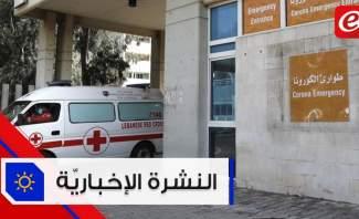 موجز الأخبار: 32 حالة شفاء من كورونا في لبنان واللبنانيون يصفقون للكادر الطبي من الشرفات