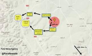 النشرة:انتهاء معاناة أهالي نبل والزهراء وهدف الجيش الوصول لمدينة اعزاز