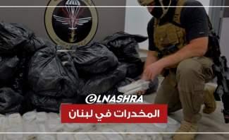 المخدرات في لبنان... هذه أبرز العمليات لمكافحة تهريبها!