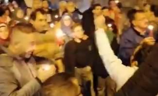النشرة: الحراك المدني اعتصم في ساحة المطران في بعلبك