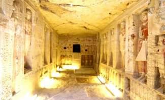 العثور على مقبرة عمرها أكثر من 4 آلاف سنة في مصر