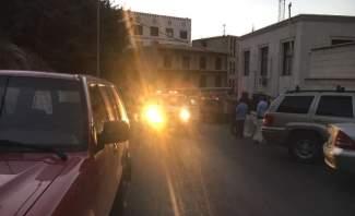 الحريق في سرايا زحلة قضى على قسم من مكاتب الدائرة المالية