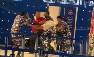 """مصدر أمني لـ""""النشرة"""": الإشكال في مطار بيروت حصل على خلفية ضبط مخالفة والاعتداء على عناصر قوى الأمن"""