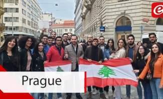 تحية من براغ الى بيروت...