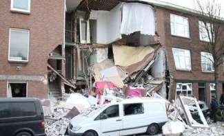وسائل إعلام هولندية: انفجار في لاهاي يتسبب في انهيار عدد من المنازل